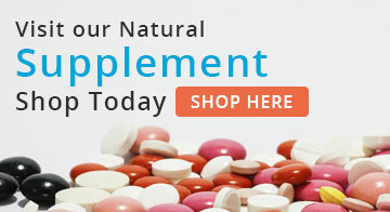Visit our Natural Supplement Shop Today